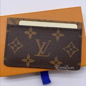 Authentic Louis Vuitton Reverse flat card holder